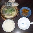 主人の夕食(夜食かな)4
