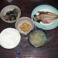 主人の夕食(夜食かな)(3)