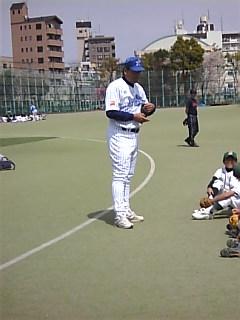 ちびっこ野球教室